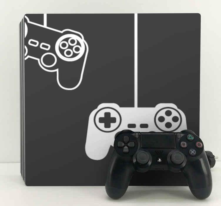 Image of Skin Ps4 Sagoma di joystick per giocatori di ragazzi