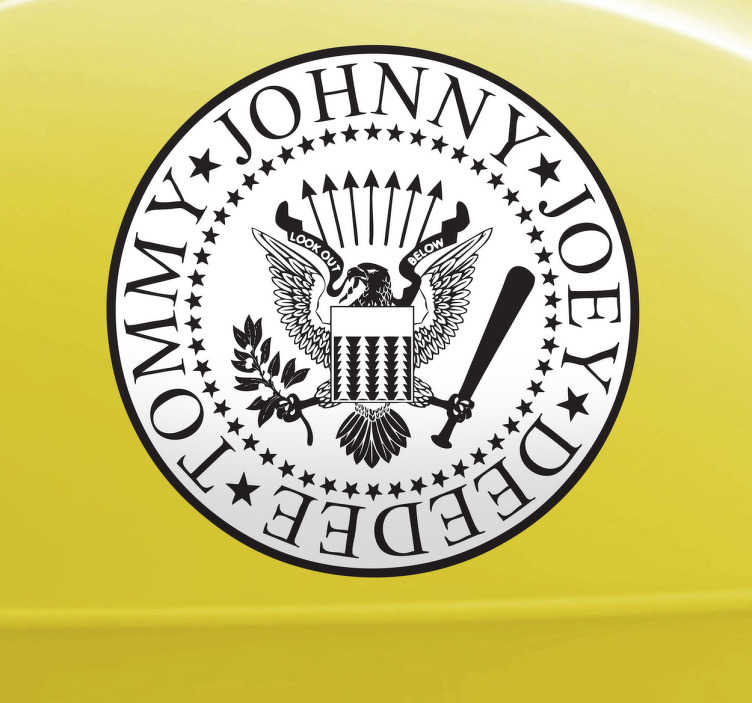 Sticker Ramones