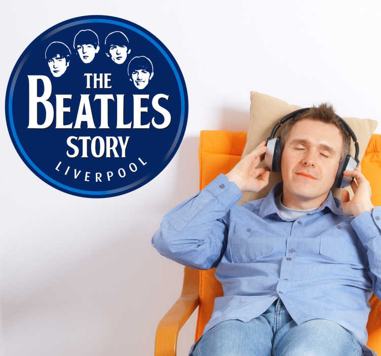 Naklejka The Beatles story