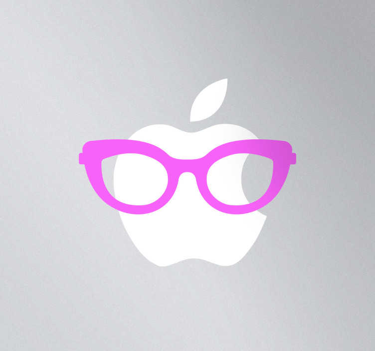 TenStickers. Glasses for Women MacBook Sticker. A superb design of some stylish glasses for woman from our collection of MacBook stickers. Perfect to decorate your MacBook or laptop.