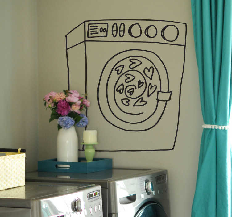 sticker lave linge mod 232 le poisson hublot pictures to pin on