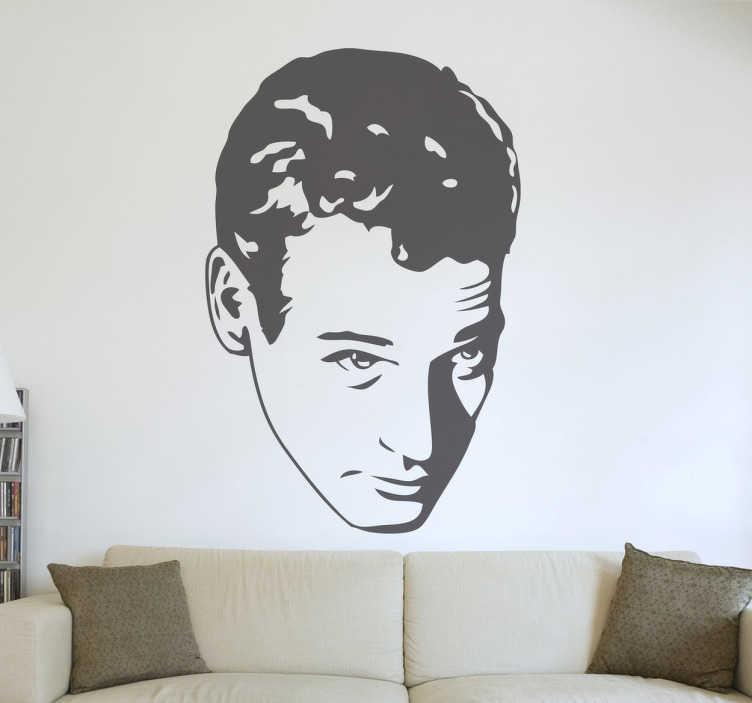TenVinilo. Vinilo decorativo retrato Paul Newman. Si eres un cinéfilo y además fan del actor estadounidense de ojos azules hazte con este vinilo.Escoge el color y la medida que quieras y decora el espacio que desees con el protagonista de el Buscavidas o la Gata sobre el tejado de zinc.