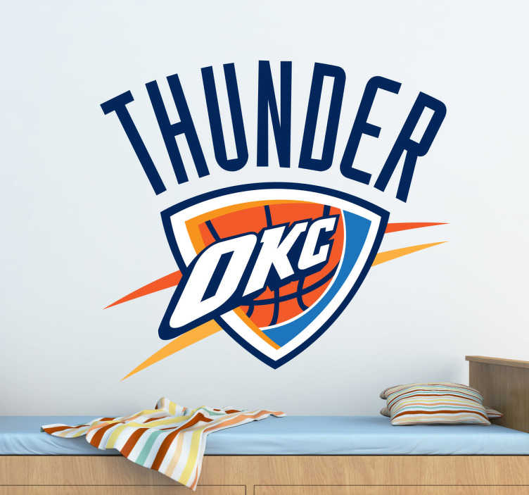 Sticker Oklahoma City Thunder