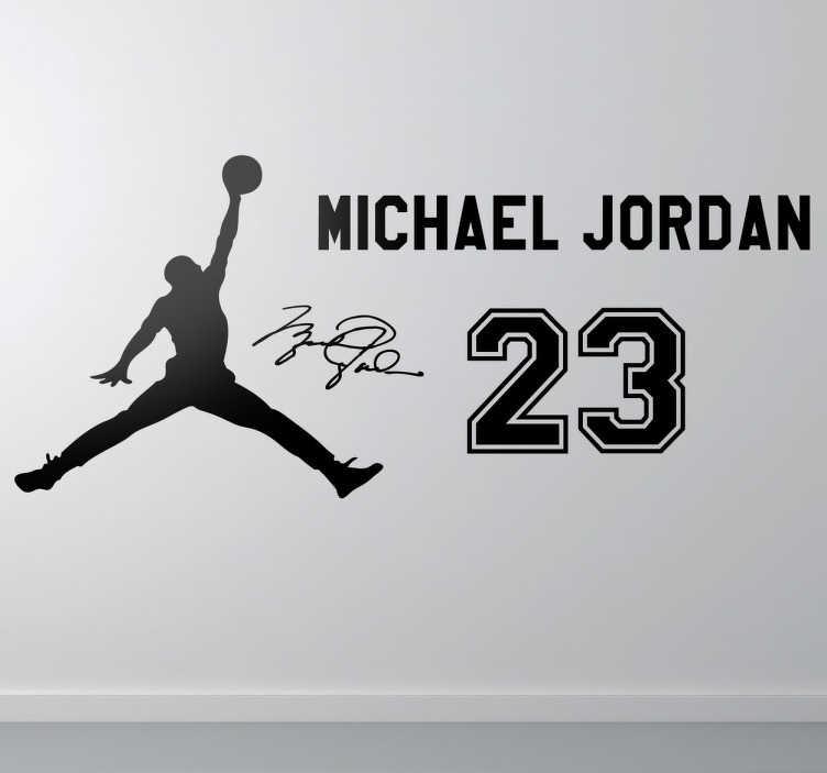 Naklejka dekoracyjna fani Jordana