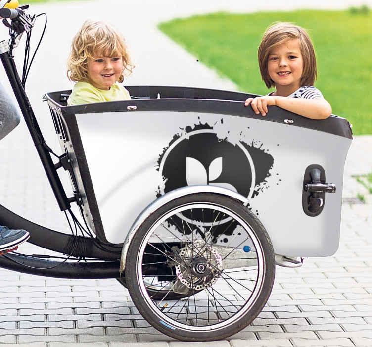 Image of Adesivo bici Logo personalizzato per bici da carico