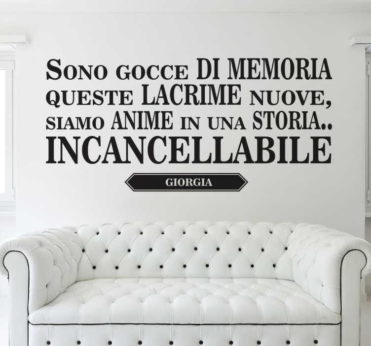 Testo Gocce Di Memoria Related Keywords & Suggestions ...