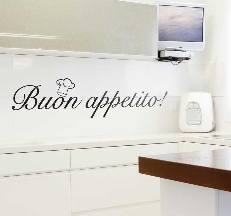 Adesivi Murali Cucina Porta Allegria Tenstickers