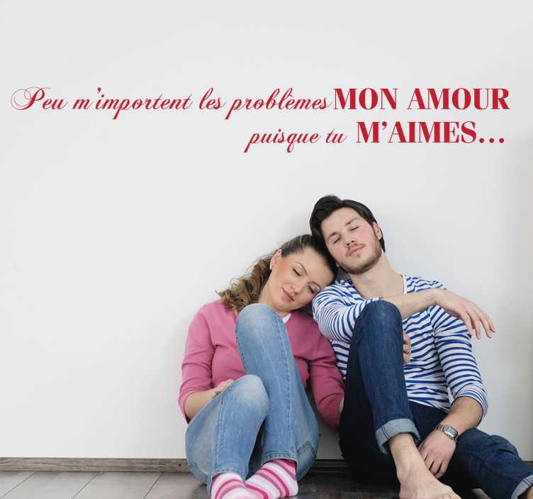Sticker mon amour