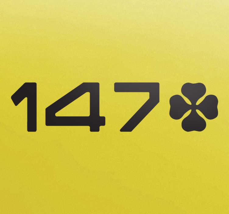 Sticker 147 trèfle