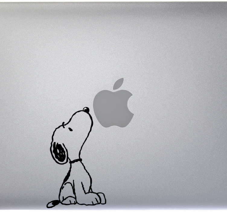 Sticker PC portable Snoopy flair