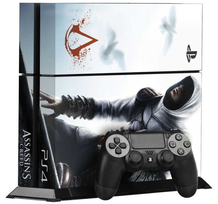 Adesivo Ps4 Assassins Creed