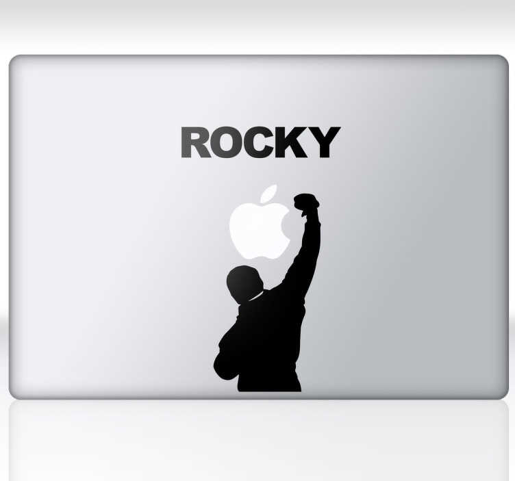 Sticker ordinateur Rocky