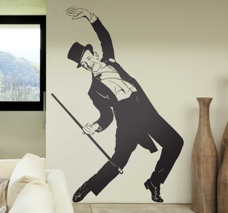 Adesivo murale Fred Astaire