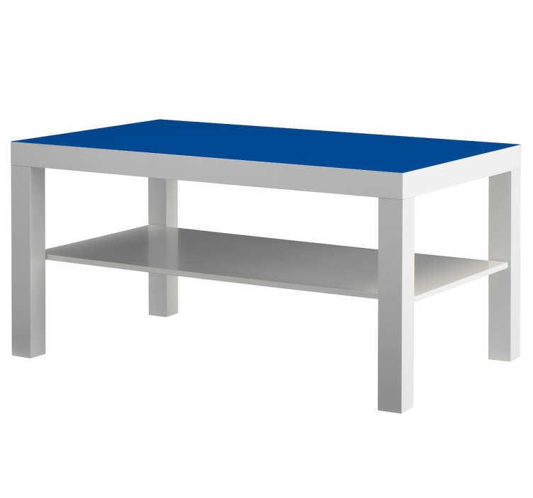 TenStickers. Sticker LACK couleur. Une idée originale pour personnaliser votre table LACK Ikea, avec ce sticker disponible dans un large choix de couleurs.