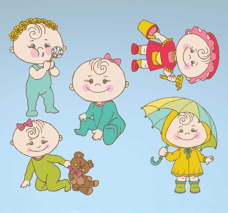 Stickers bambini neonati