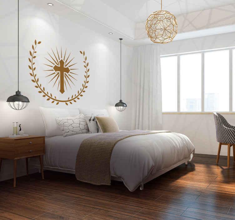 Naklejka krzyż