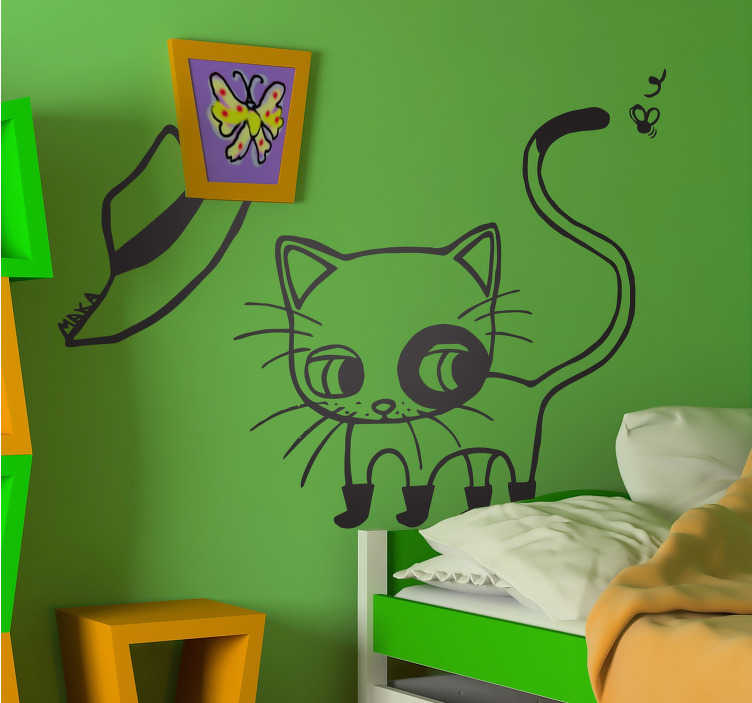 Sticker chat botté