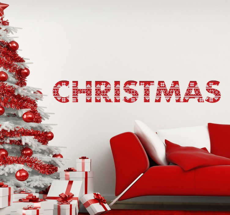 Wall sticker Christmas