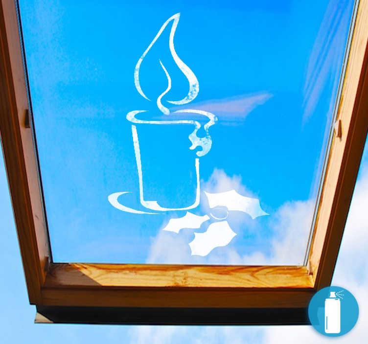 TenVinilo. Plantillas de vinilo decoración navideña. Plantillas spray nieve en vinilo ideales para ventanas y escaparates.