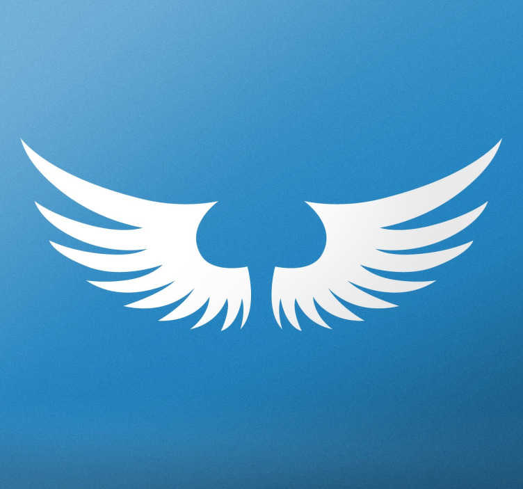 Adhesivo decorativo alas ángeles - TenVinilo