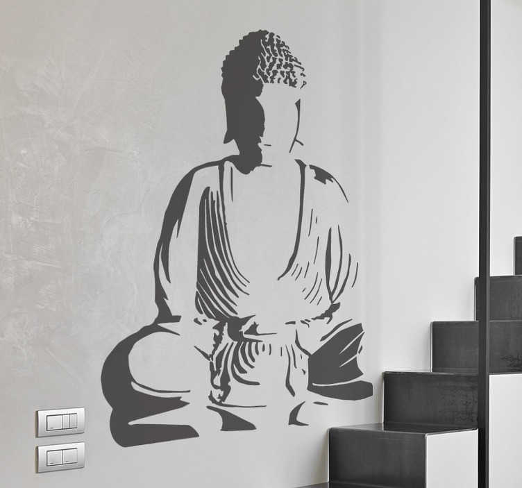 Amazing Buddha Decorative Wall Decal