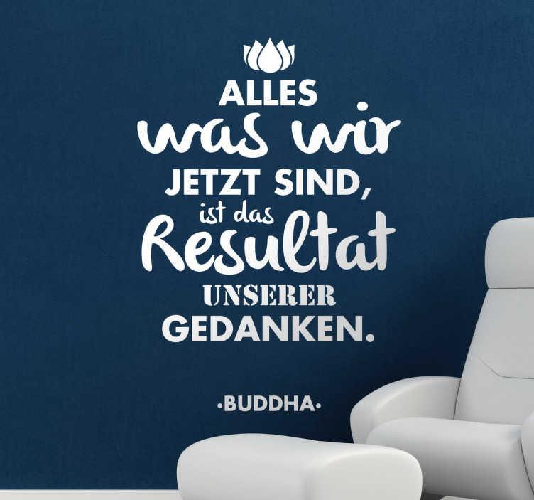 Spruch Buddha