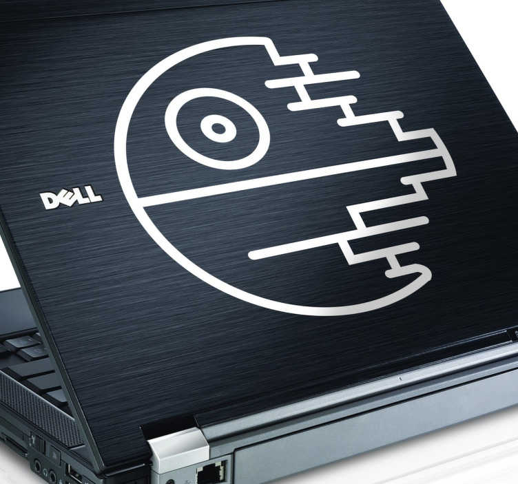 Sticker Laptop La Morte Nera