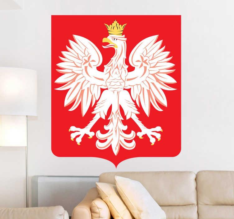 Naklejka godło Polski
