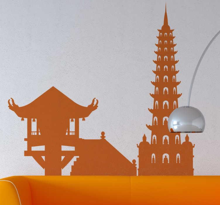 Naklejka Hanoi