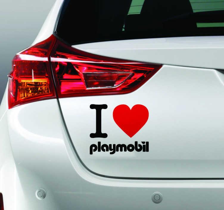Love Playmobil