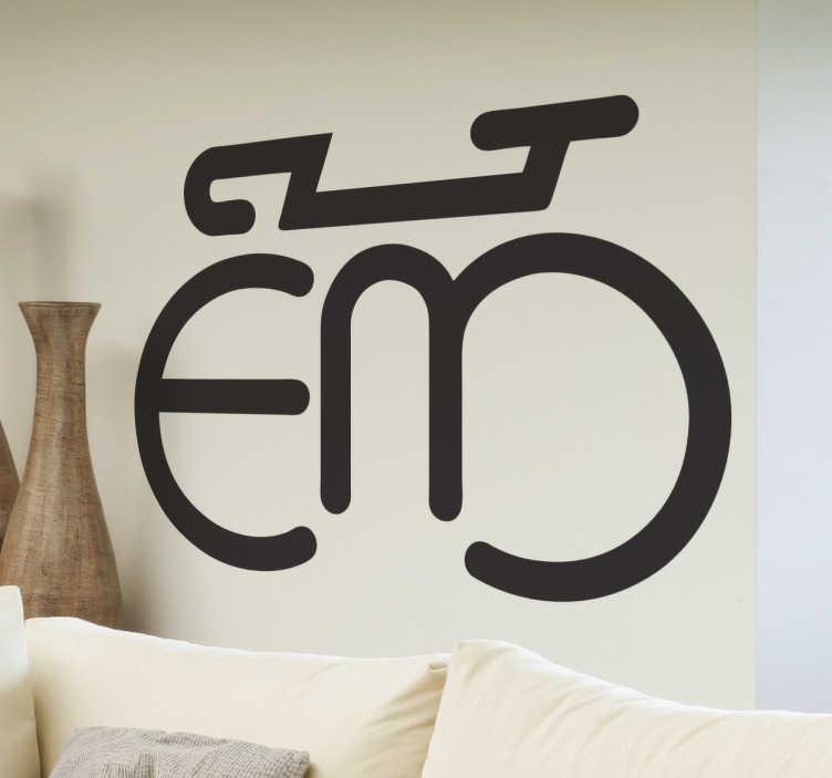 Naklejka logo eddy merckx