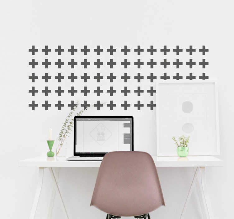 Moderne muursticker als wanddecoratie tenstickers - Decoreer zijn professionele kantoor ...