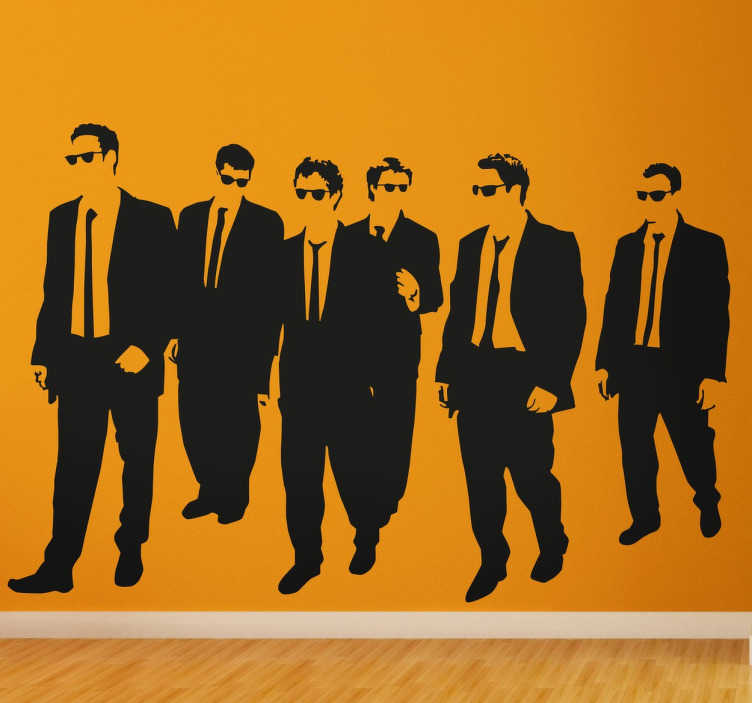 Sticker Reservoir Dogs film