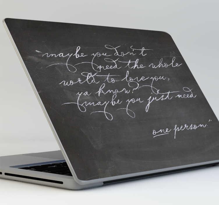 Adesivi lavagna laptop