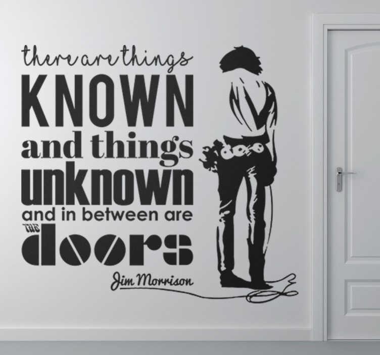 Naklejka na ścianę The Doors