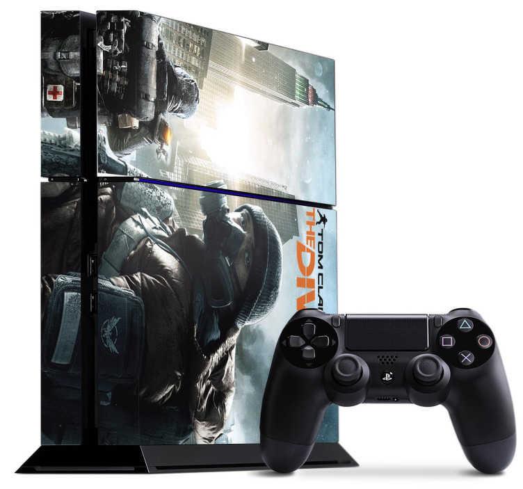 TenVinilo. Vinilo PS4 The Division. Vinilo decorativo para tu Play Station 4 del videojuego de la mítica saga Tom Clancy. The Division es un juego de acción increíble e irremplazable para los fans de esta saga