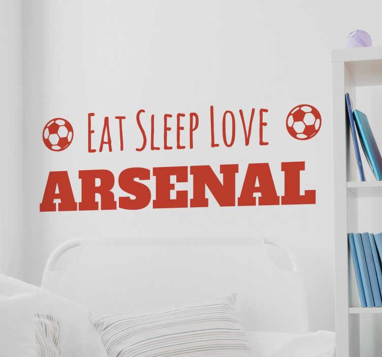 TenStickers. Adesivo personalizzabile squadra di calcio inglese. Decora la tua casa con questo meraviglioso adesivo della tua squadra del cuore.
