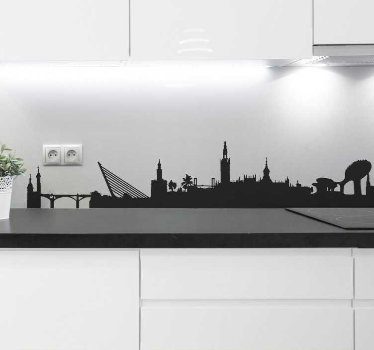Adesivo silhouette Siviglia