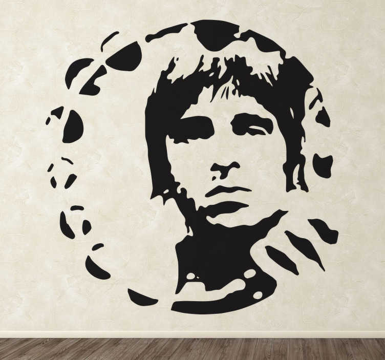 Adesivo decorativo Noel Gallagher