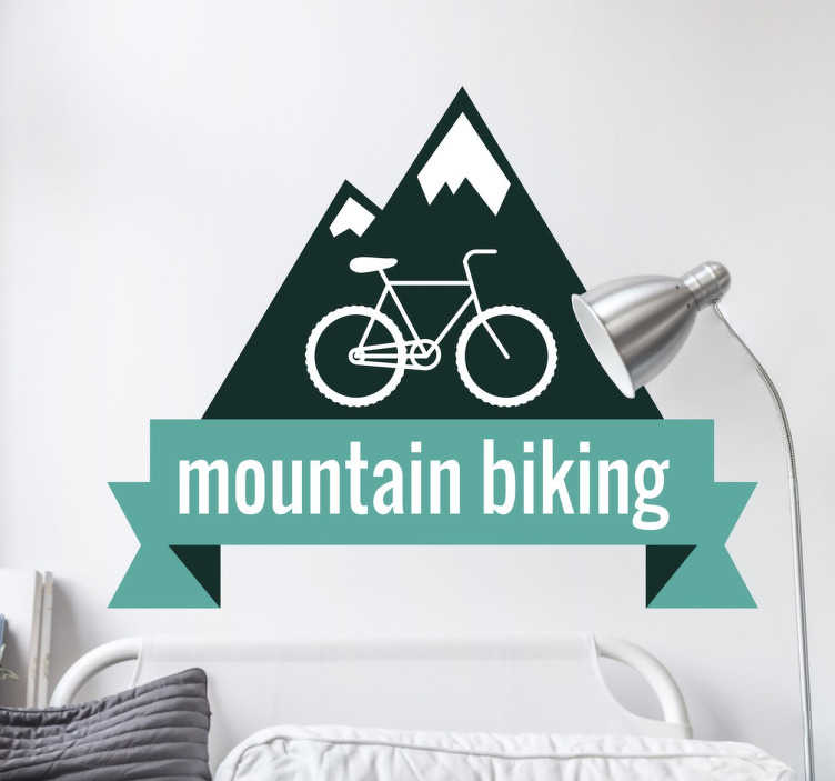 Sticker Mountain Bike