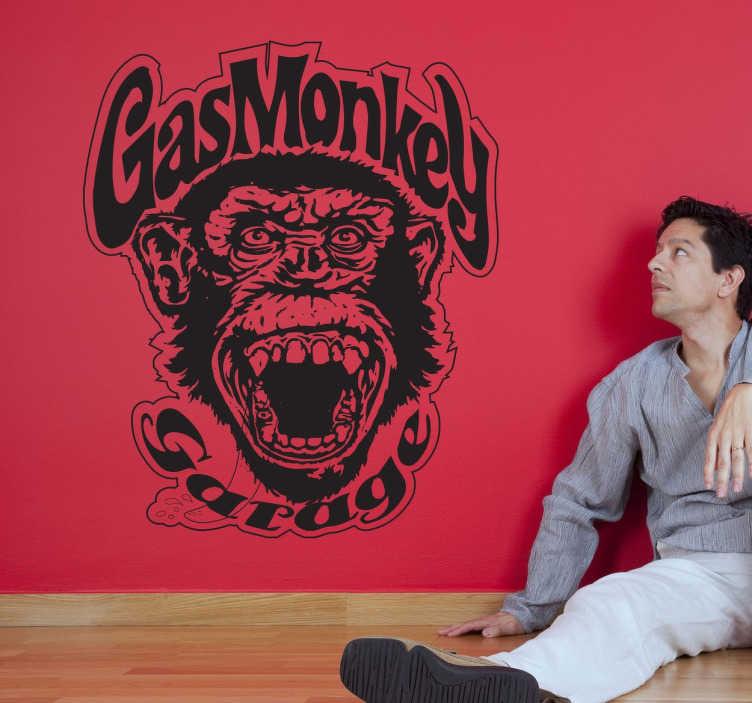 Vinilo Logotipo Gas Monkey Garage