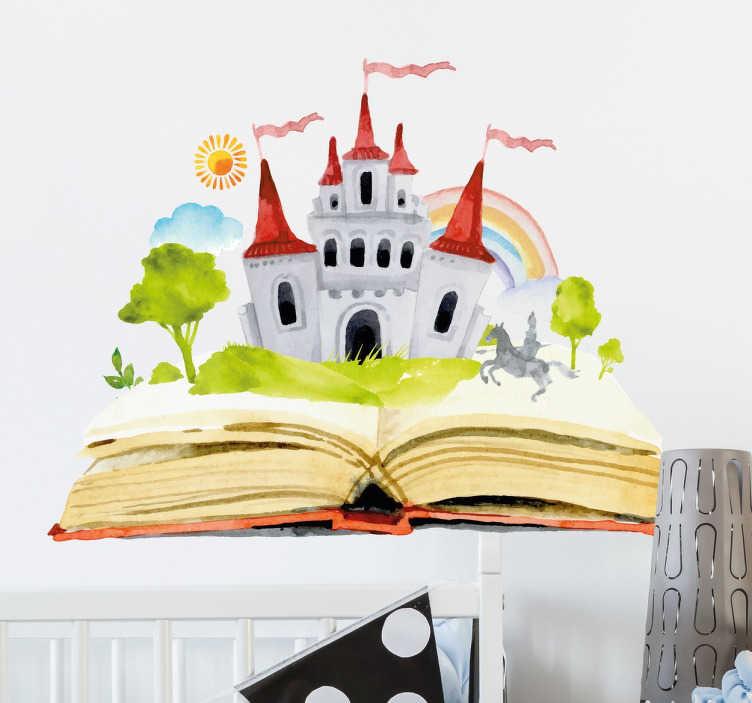 Kids Fairy Tale Story Sticker