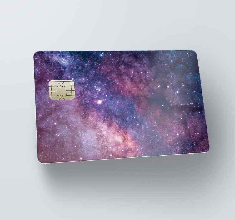 Kreditkort sticker universet