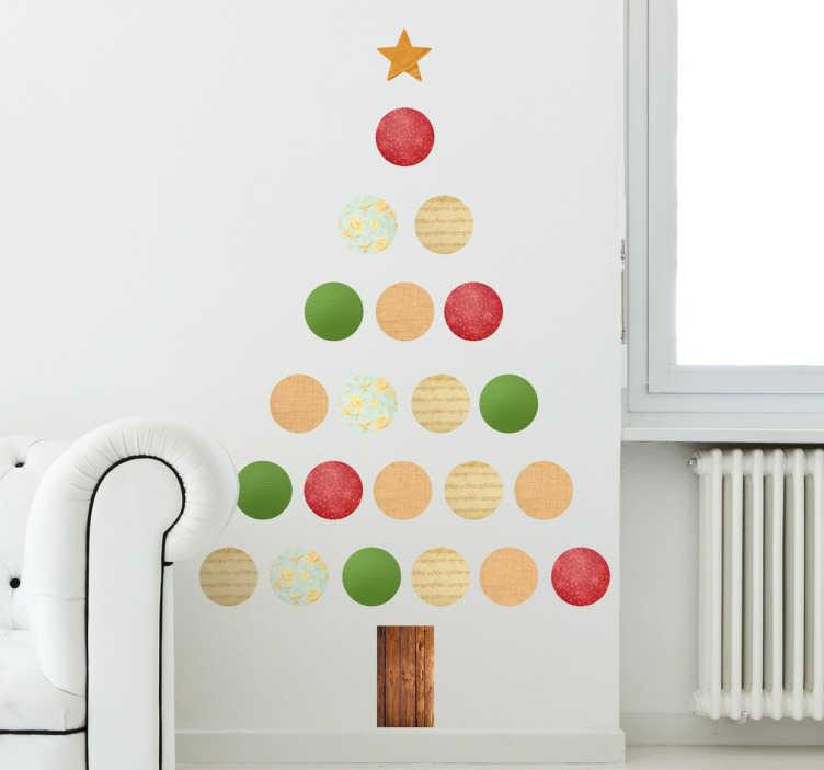Vnilos de navidad christmas tree tenvinilo for Vinilos decorativos navidad