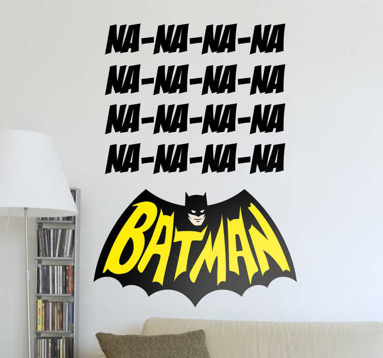 Sticker Batman na na na