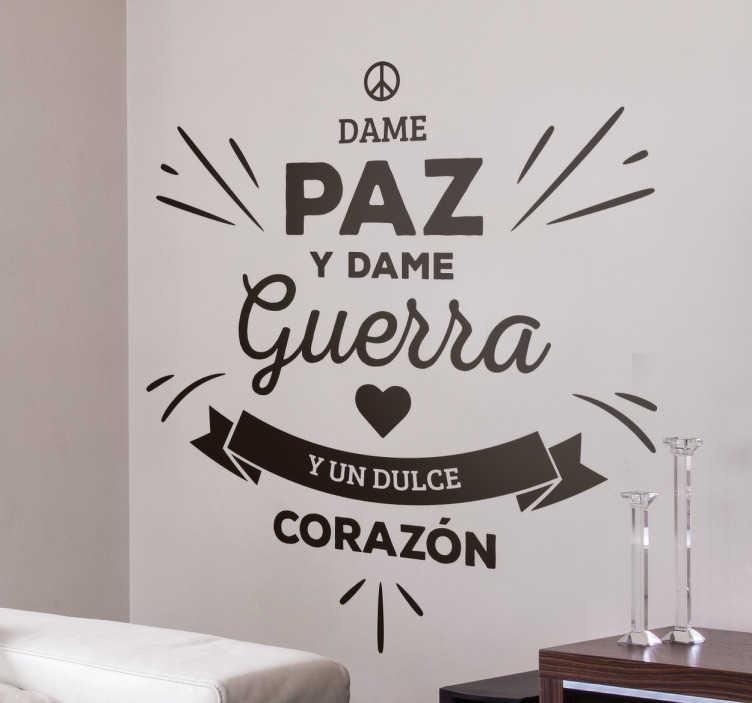 TenVinilo. Vinilo decorativo los Rodríguez. Pegatinas de rock con un extracto de la letra de este fantástico tema de Los Rodríguez con Los Ronaldos.