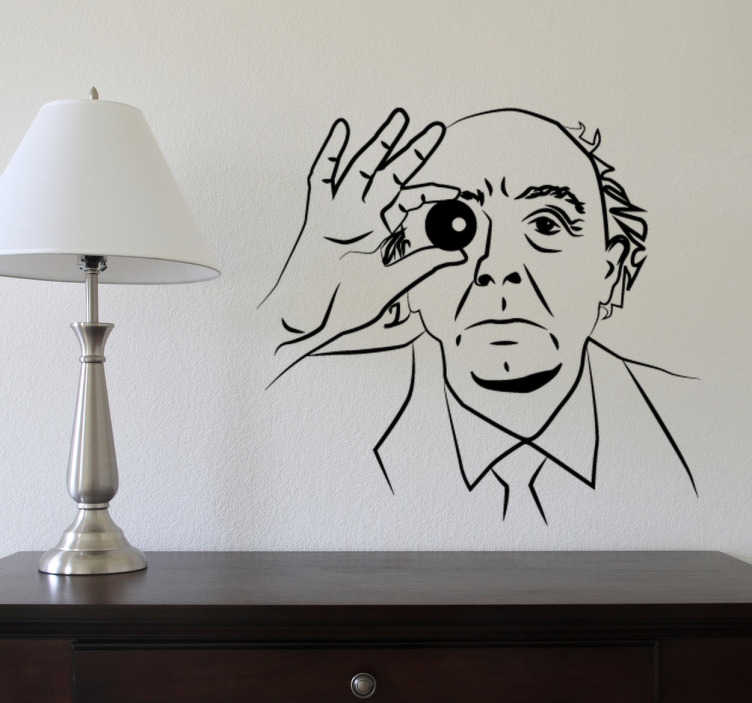 Vinilo decorativo Jóse Saramago