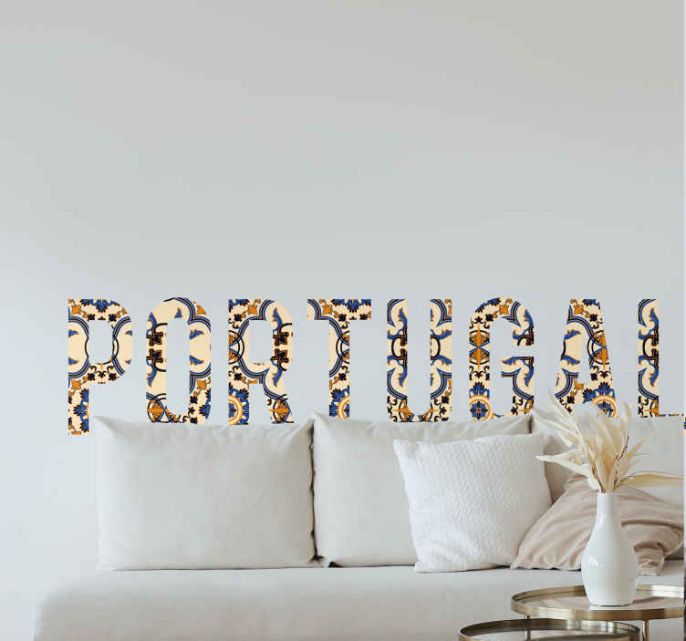 c7d5ca618aa8f sticker texte Portugal - TenStickers
