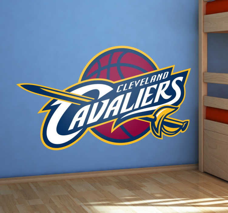 Cleveland Cavaliers Basketball Sticker