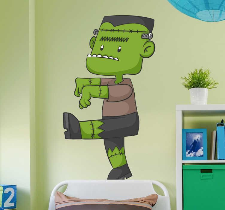 Vinilo infantil monstruo Frankie